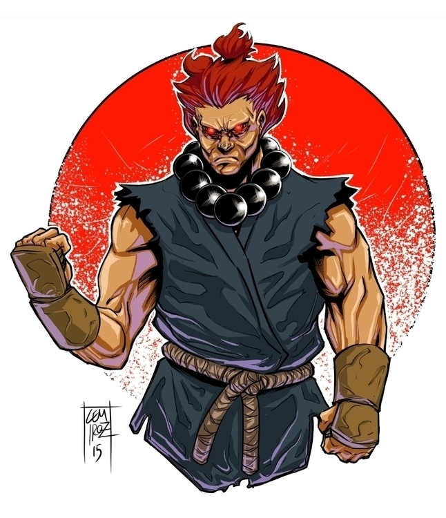 Akuma Street Fighter - streetfighter - cemiroz | ello