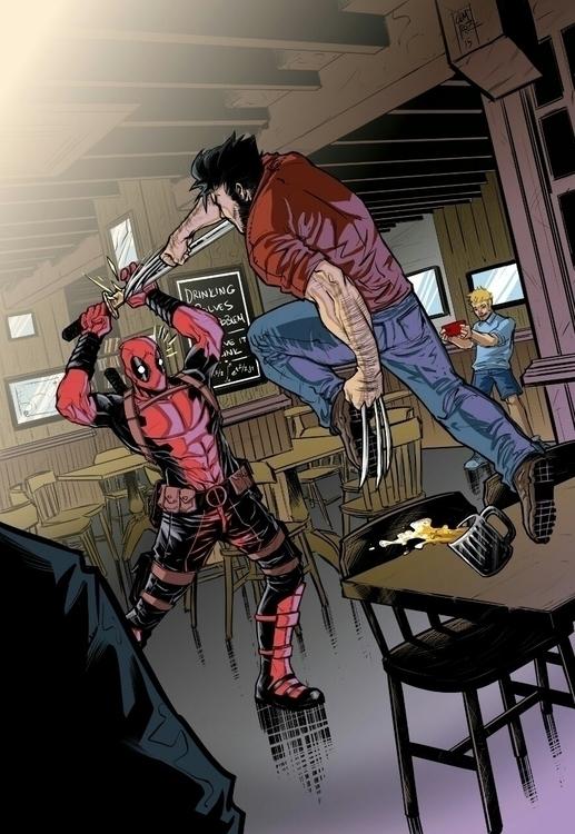 Deadpool Wolverine - Comics, ComicBooks - cemiroz | ello