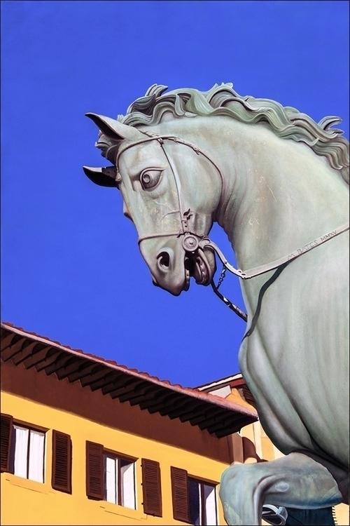 Il Cavallo di Cosimo Oil Canvas - matteopaints | ello