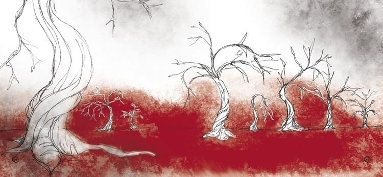 illustration, graphicdesign, booklet - nahuelullua | ello