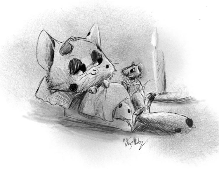 Daily Doodle - illustration, KelseyWooley - kelseyrw | ello