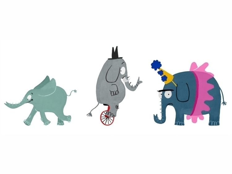 elephant, illustration, childrensbook - cpowell-1234 | ello