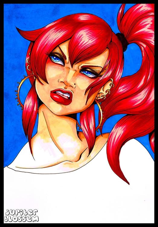 Meli - illustration, characterdesign - emilybrown-9208   ello