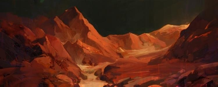 odyssey 24 - illustration, painting - causelovesky | ello
