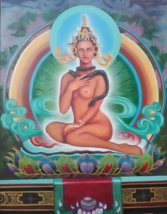 opulence - #tibetian#female#diety - charlesrichardson | ello