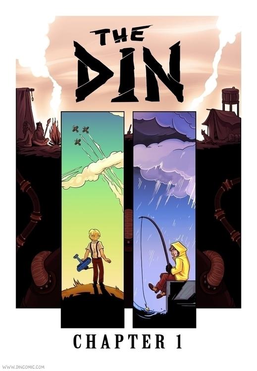 Cover Chapter 1 comic Din - comics - karrey | ello