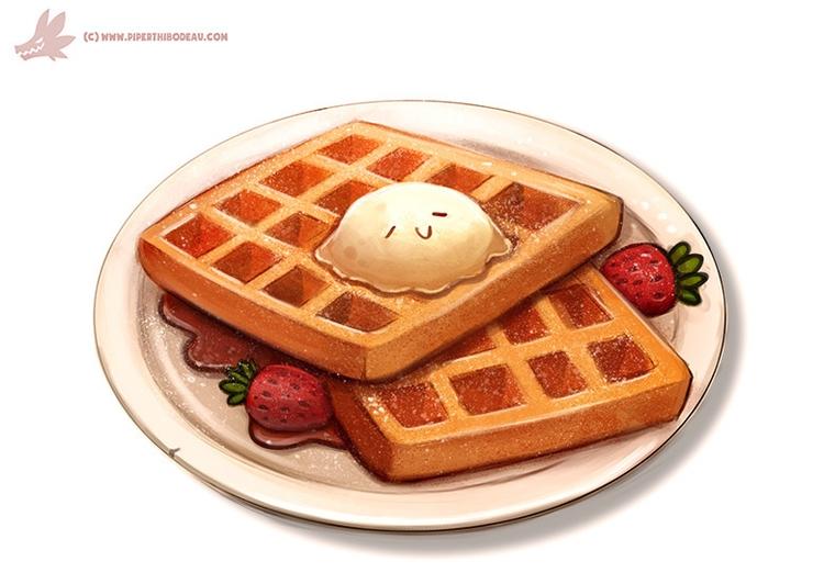 Daily Paint Waffles - 1111. - piperthibodeau | ello