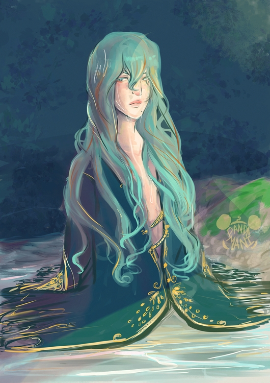 Maki seawarlock - illustration, digitalpainting - imaniking | ello