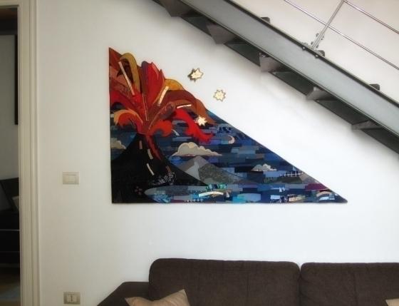 Notte Torrese (2016) 101 150 cm - nuages-9392 | ello