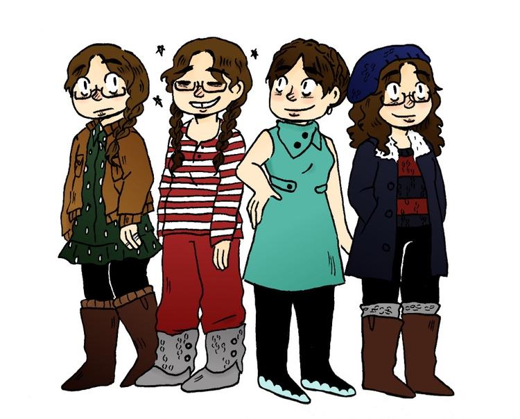 ootd - illustration, characterdesign - norathebean | ello