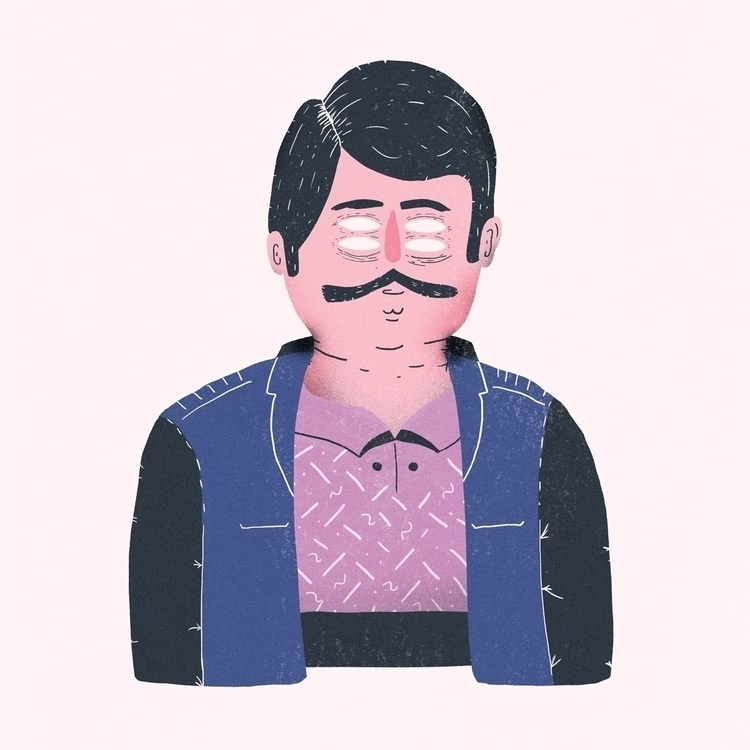 illustration, characterdesign - rfortes | ello