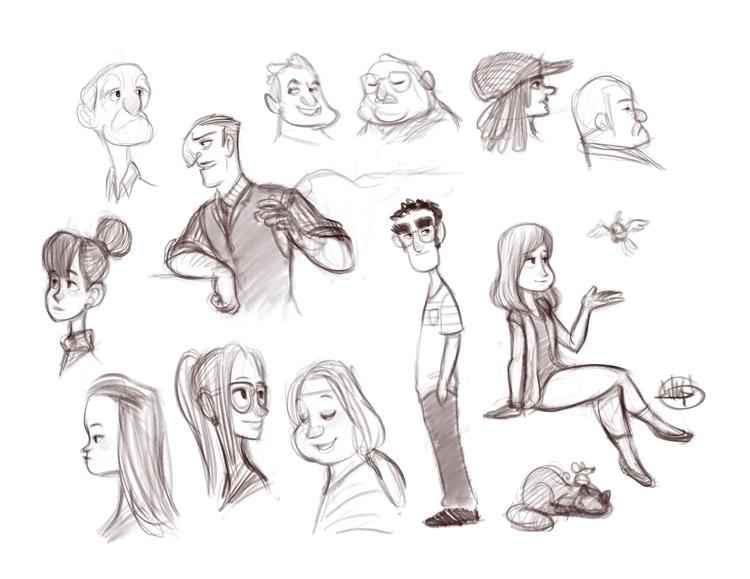Night sketches 6-18-15 - luigil-2352 | ello