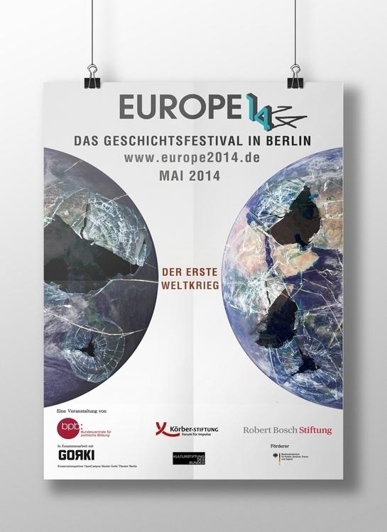 Europe 14/14 proposal poster - illustration - javi_olalla | ello