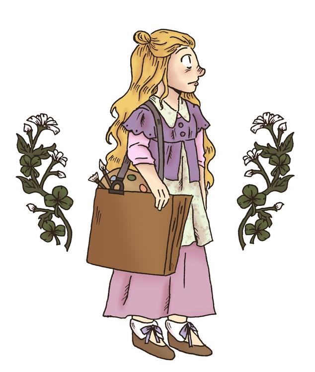 honey clover - illustration, honeyandclover - norathebean | ello