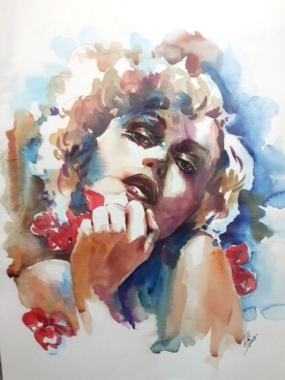 femininity - painting - valiaart   ello