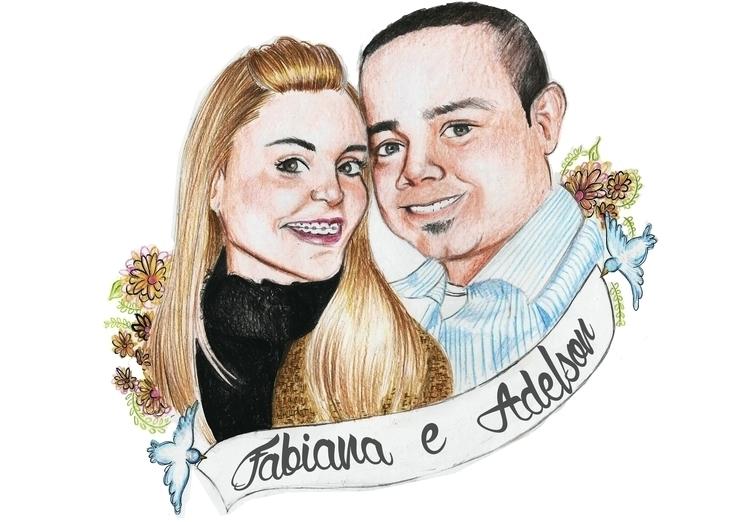 2014 - illustration, painting, drawing - gabrielamolinaro | ello