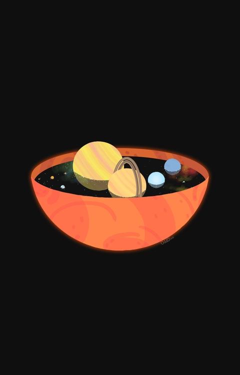 delicious bowl Milky Ways - space - odddino | ello
