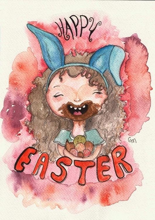 Easter Illustration/2015 - illustration - gabrielamolinaro   ello