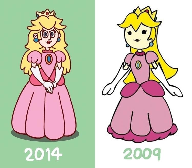 comparison renditions Princess  - carldoonan | ello