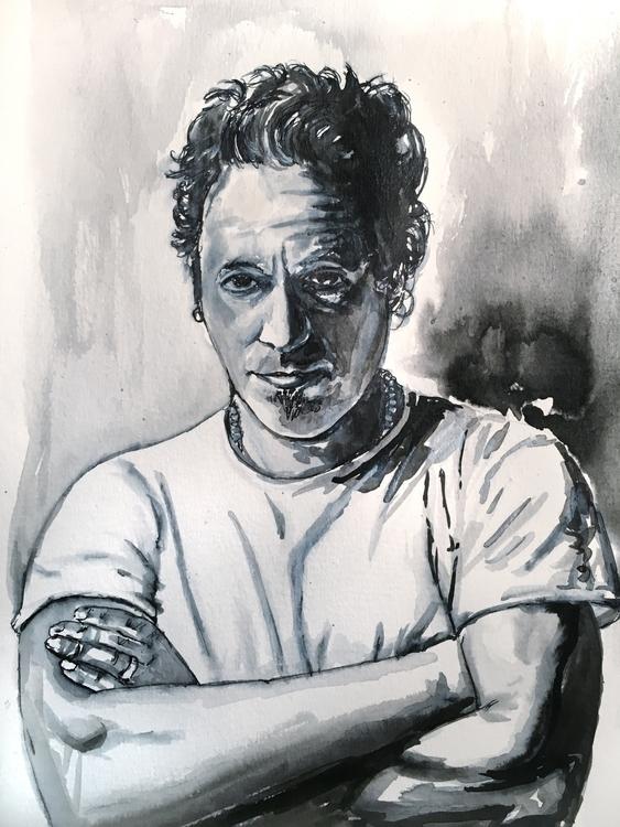 illustration, drawing, portrait - quimmoya | ello