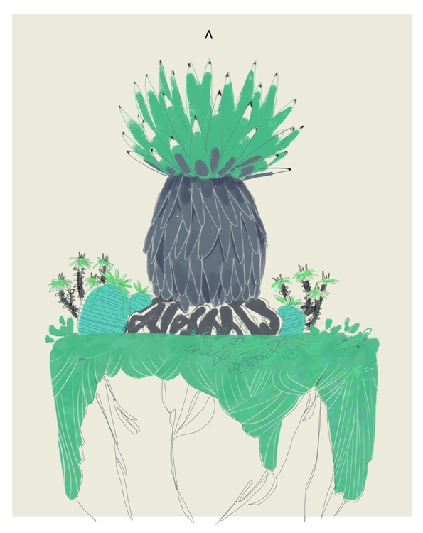 Terrarium - illustration - coffeeprotocol | ello