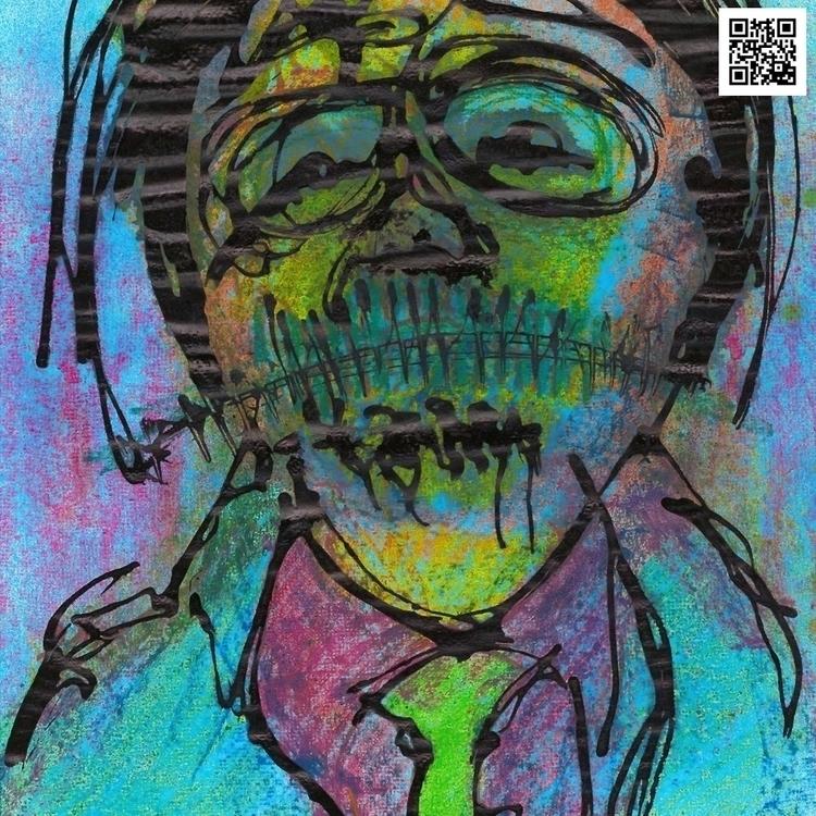   Pinturas sobre papel - Painti - theophilorodrigues   ello