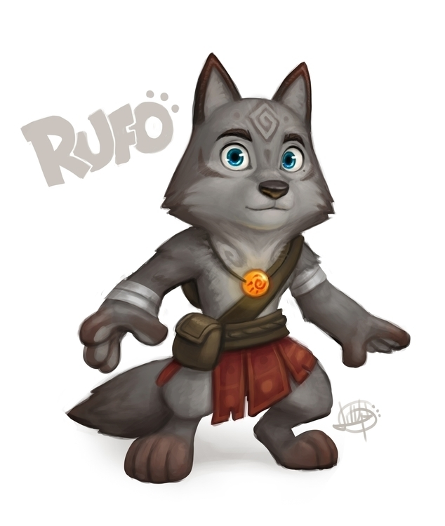 wolf guy Rufo! noticed previous - luigil-2352 | ello