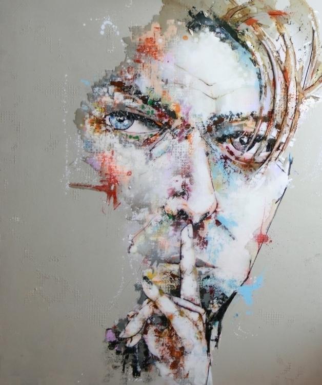 David Bowie - painting - struwerschildert | ello