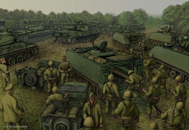 morning - illustration, military - dannybriggs | ello