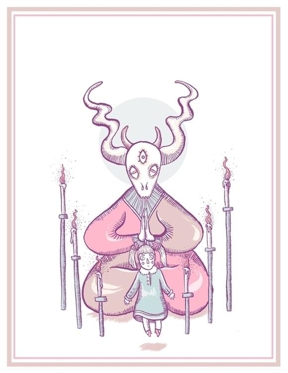 Ritual - ritual, demon, evil, eyes - sonialazo | ello