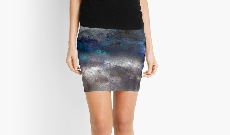 pencil skirt winter - painting, digitalart - wolfgangschweizer | ello
