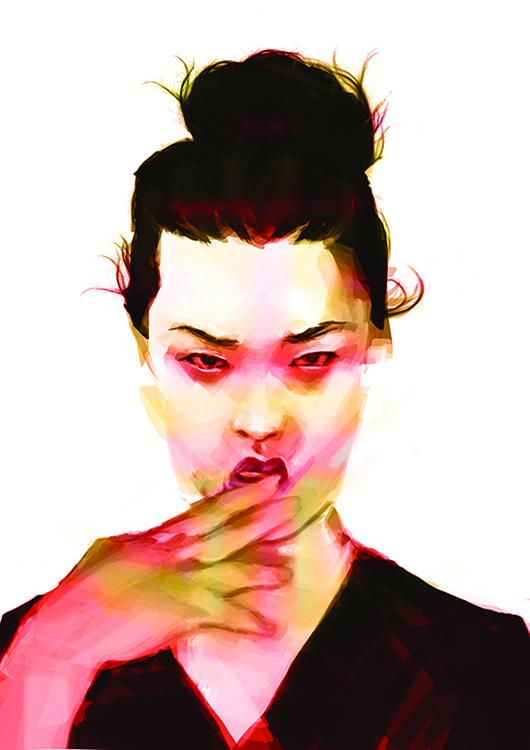 portrait - illustration - alessandrabelgio | ello