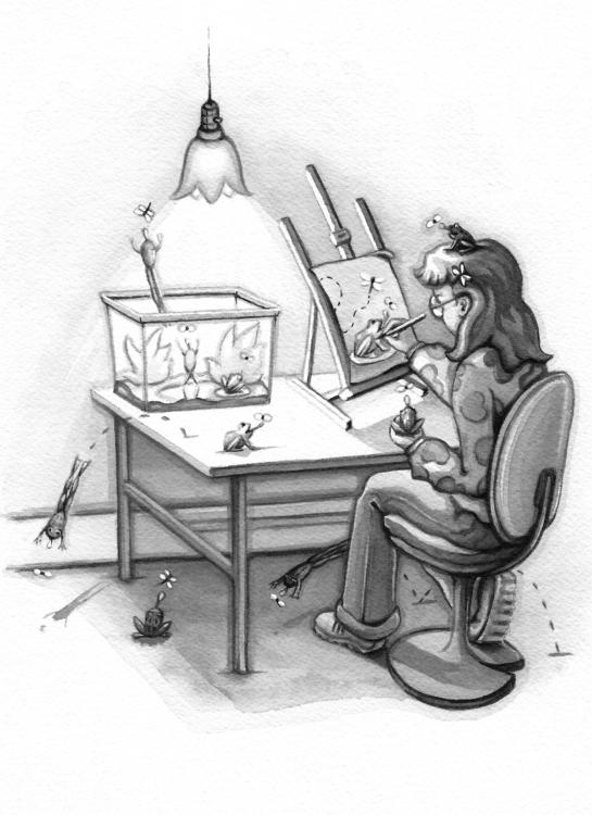 Subject - illustration, painting - artfulu | ello