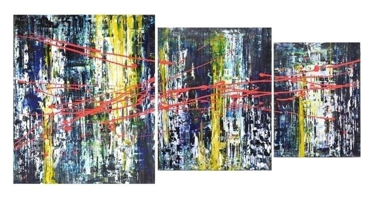 Allegro, triptych, parts. Tanya - tanya_vasilenko | ello