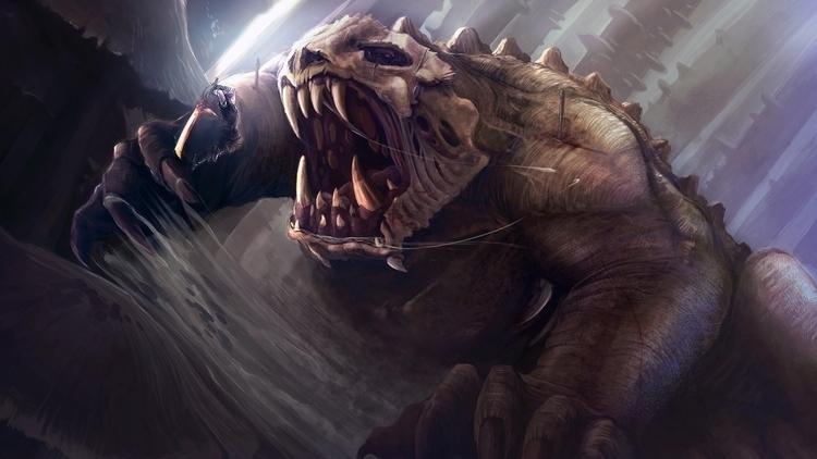 Combat Scene - Creature, Creaturedesign - jporta | ello