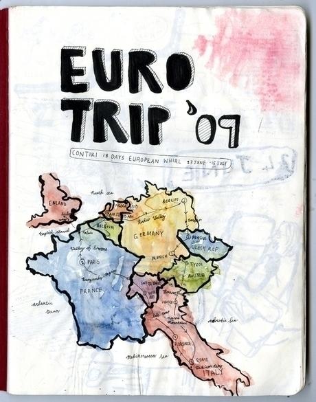 European tirp 2009 - travel, traveling - miekevdmerwe | ello