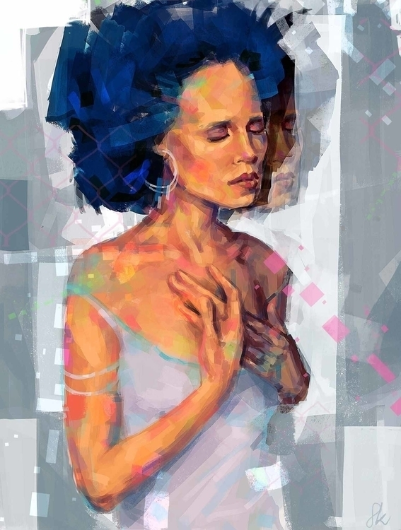 digitalart, digitalpainting, painting - sandraknego | ello