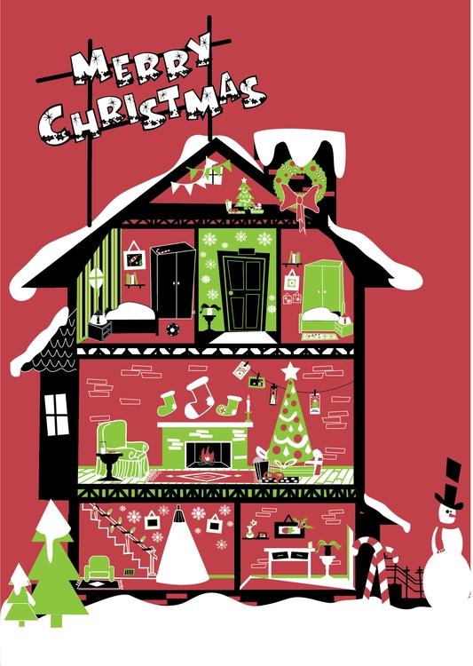 illustration, winter, christmas - mp-1845 | ello