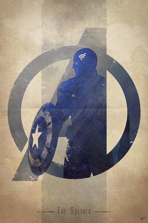 Avengers assemble! Inspired 'Av - digitaltheory | ello
