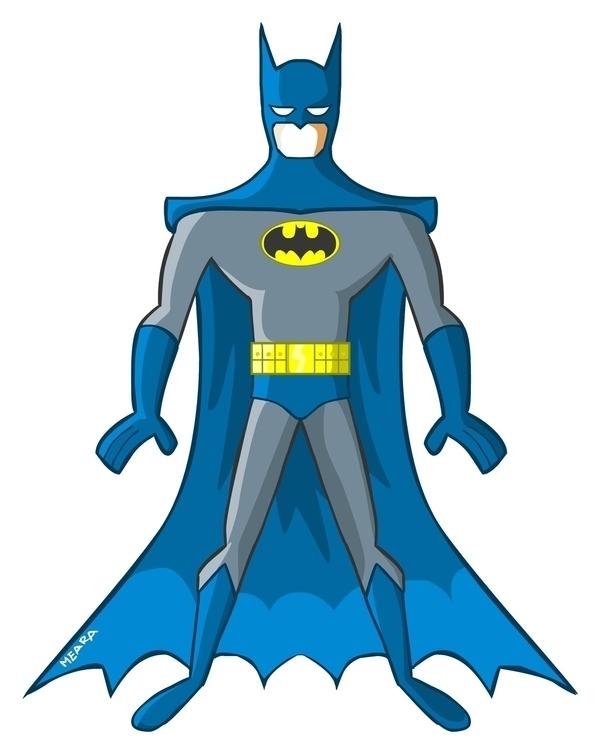 Batman - comics, characterdesign - mearatime   ello