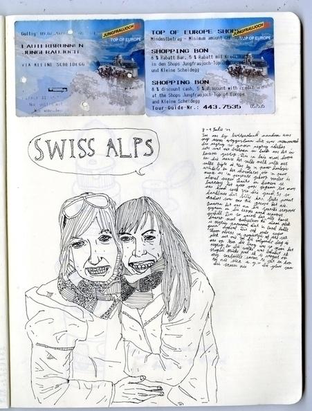 swiss alps - miekevdmerwe | ello
