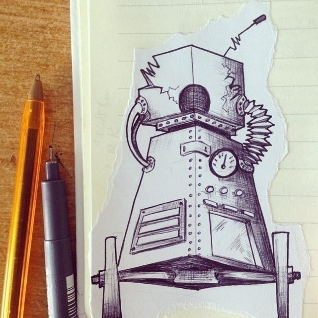 Robotics 1.2 - illustration, characterdesign - mp-1845 | ello