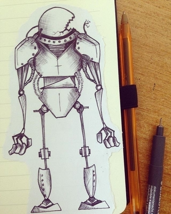 Robotics 1.3 - illustration, characterdesign - mp-1845 | ello