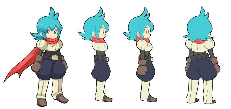 Jin - Rotation - illustration, characterdesign - chelostracks | ello