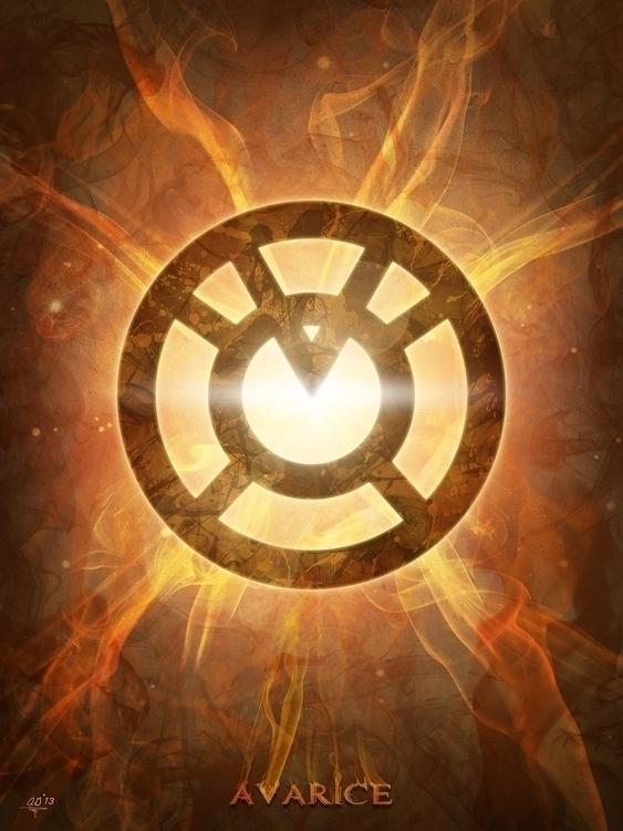 Inspired DC universe Green Lant - digitaltheory | ello
