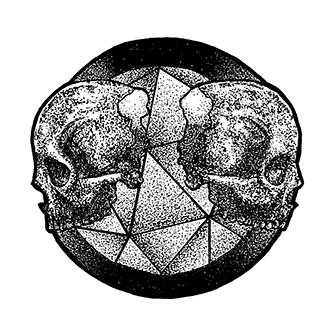 02 - stippling, dotwork, skullobsession - nickvcarro | ello