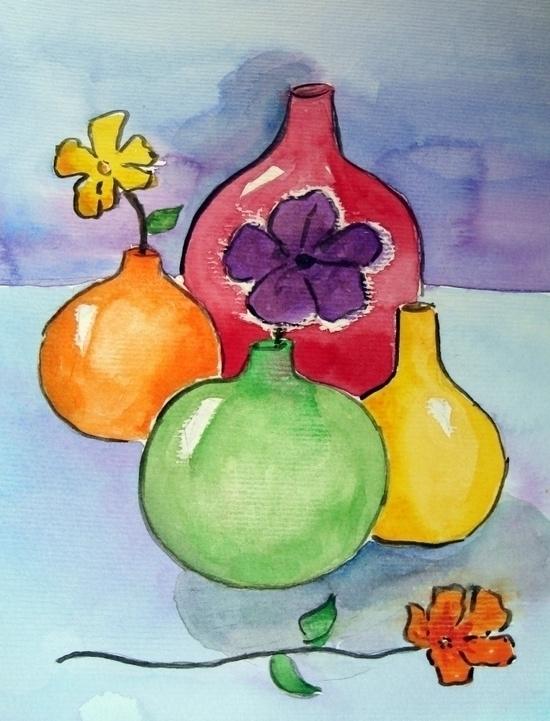 illustration, painting - anabachiega | ello