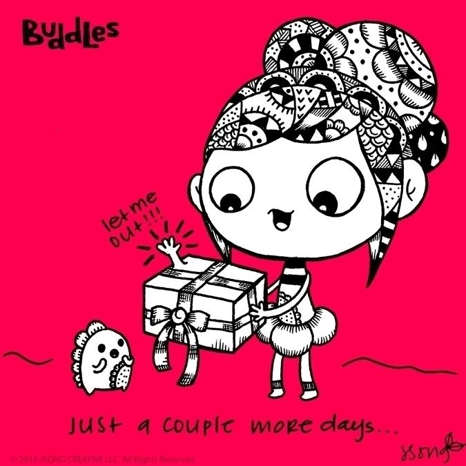 illustration, drawing, characterdesign - buddles | ello