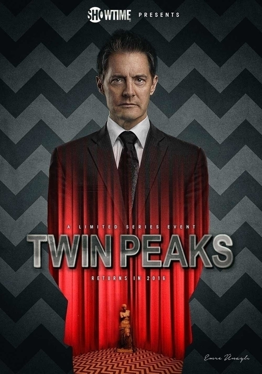 Key Art design Twin Peaks Reviv - emreunayli | ello
