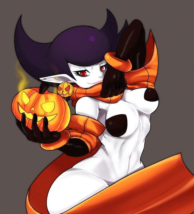 Darcy Moon - Happy Halloween - illustration - chelostracks   ello